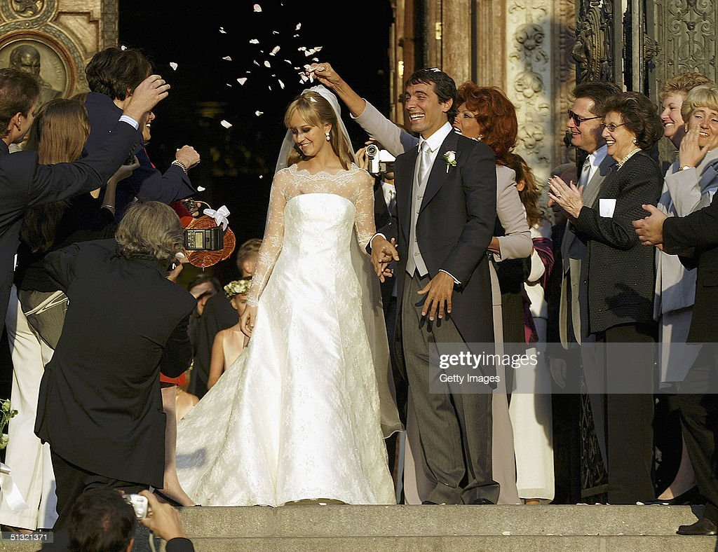 Carlo Ponti Jr Weds in St. Stephen's Basilica : News Photo