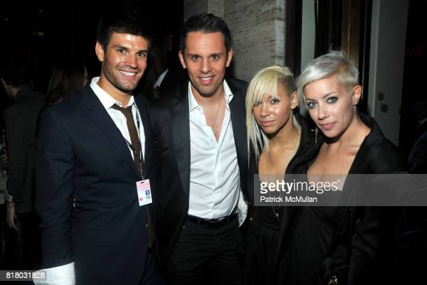 Carlo Romero Christian Angermayer Jane Bang and Amanda Leigh Dunn attend TOMMY HILFIGER After Party at Metropolitan Opera House on September 12 2010...