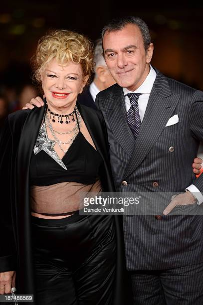 Carlo Rossella and Sandra Milo attend 'Dallas Buyers Club' Premiere during The 8th Rome Film Festival on November 9 2013 in Rome Italy