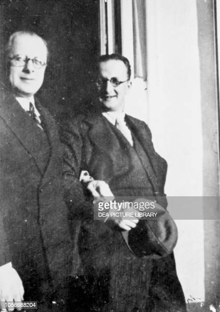 Carlo Rosselli and Nello Rosselli France 20th century