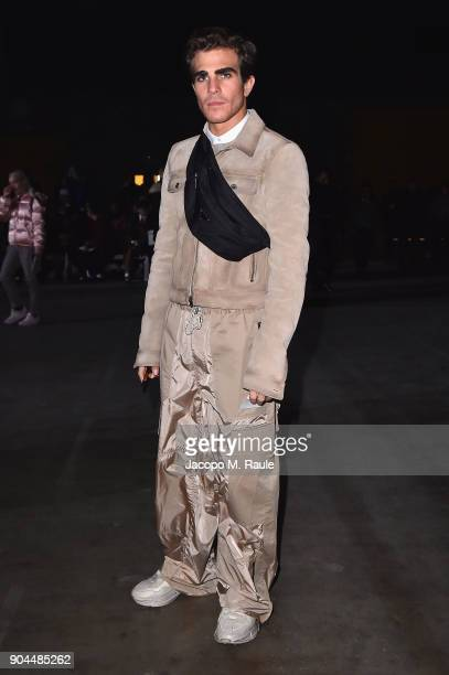 Carlo Sestini attends the Diesel Black Gold show during Milan Men's Fashion Week Fall/Winter 2018/19 on January 13 2018 in Milan Italy