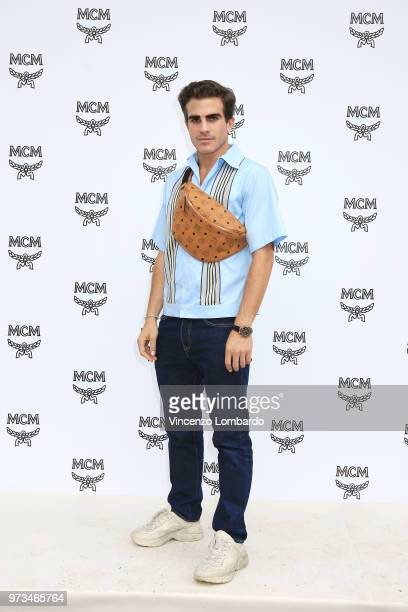 Carlo Sestini attends the MCM Fashion Show Spring/Summer 2019 during the 94th Pitti Immagine Uomo on June 13 2018 in Florence Italy