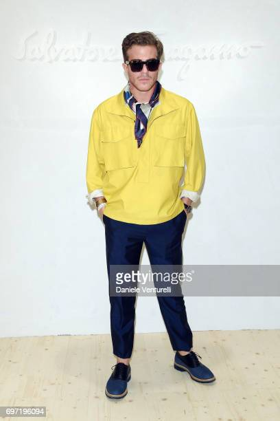 Carlo Sestini attends the Salvatore Ferragamo show during Milan Men's Fashion Week Spring/Summer 2018 on June 18 2017 in Milan Italy