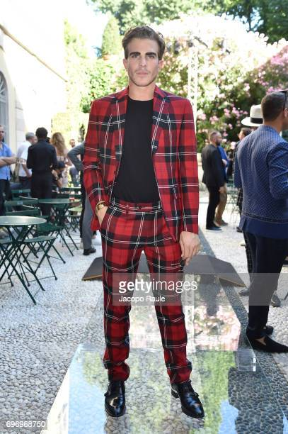 Carlo Sestini attends the Versace show during Milan Men's Fashion Week Spring/Summer 2018 on June 17 2017 in Milan Italy