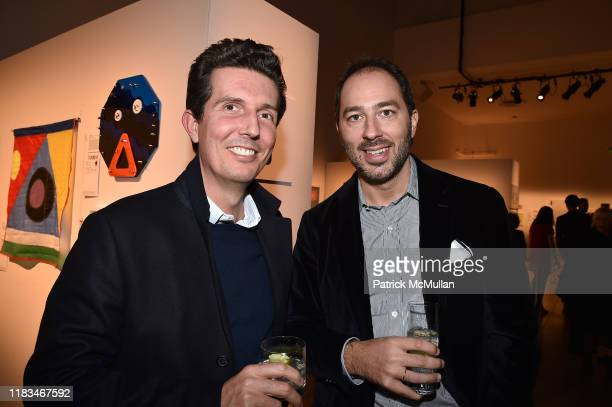 Carlo Suarez and Prince Dushan of Yugoslavia attend 25th Annual ARTWALK NY Benefiting Coalition For The Homeless Presented By Max Mara at Spring...