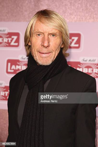 Carlo Thraenhardt arrives for the Lambertz Monday Night 2015 at Alter Wartesaal on February 2 2015 in Cologne Germany