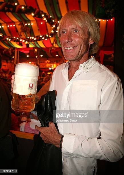 Carlo Thraenhardt attends the Boris Becker Oktoberfest Golf Trophy in the Hippodrom beer tent during the Oktoberfest beer festival on September 24...