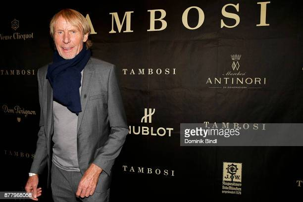 Carlo Thraenhardt attends the Tambosi reopening on November 23 2017 in Munich Germany