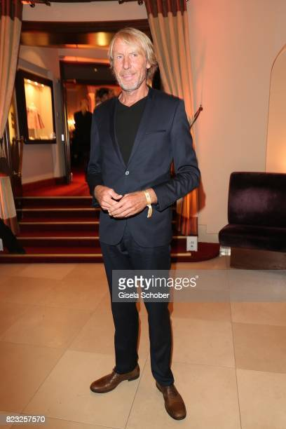 Carlo Traenhardt during the Hotel Vier Jahreszeiten summer party 'Eclat Dore' on July 26 2017 in Munich Germany