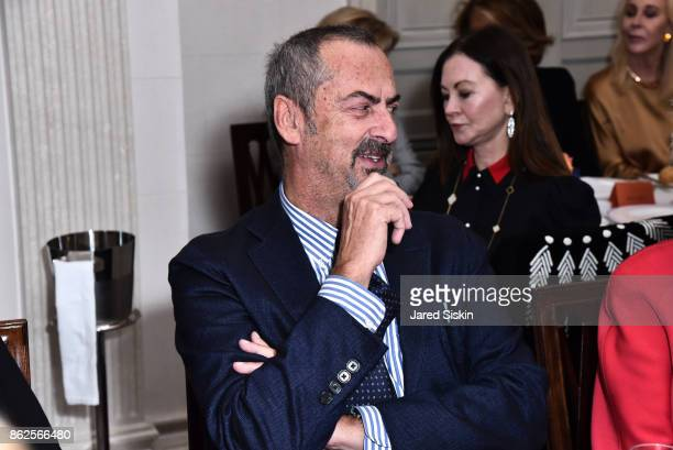 Carlo Traglio attends QUEST VHERNIER Host Luncheon at MAJORELLE at Majorelle on October 17 2017 in New York City