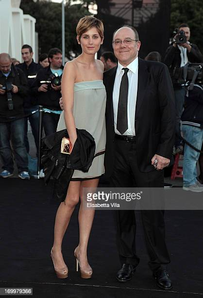 Carlo Verdone and daughter Giulia Verdone attend 'One Night Only' Roma hosted by Giorgio Armani at Palazzo Civilta Italiana on June 5, 2013 in Rome,...