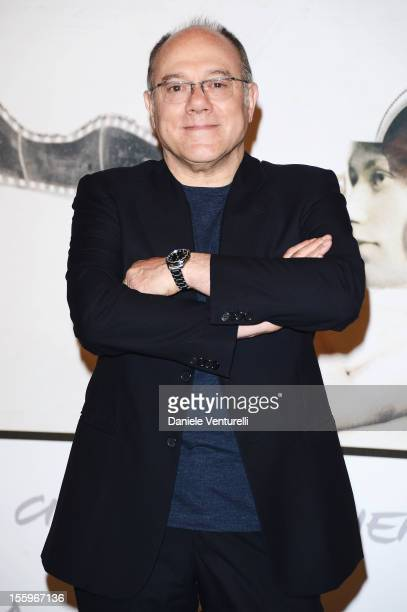 Carlo Verdone attends the 'Carlo' Photocall during the 7th Rome Film Festival at the Auditorium Parco Della Musica on November 10 2012 in Rome Italy