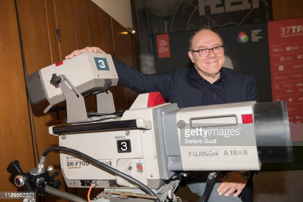 Carlo Verdone godfather of the Turin Film Festival 2019 during the Turin Film Festival 2019 on November 25 2019 in Turin Italy