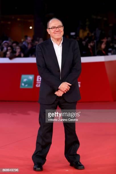 Carlo Verdone walks a red carpet for 'Borotalco' during the 12th Rome Film Fest at Auditorium Parco Della Musica on October 31, 2017 in Rome, Italy.