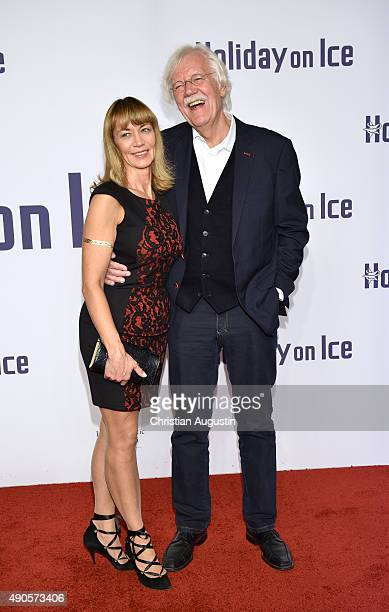 """Carlo von Tiedemann and Julia Laubrunn attend the Holiday On Ice Gala """"Believe"""" at the hotel Atlantic on September 29, 2015 in Hamburg, Germany."""