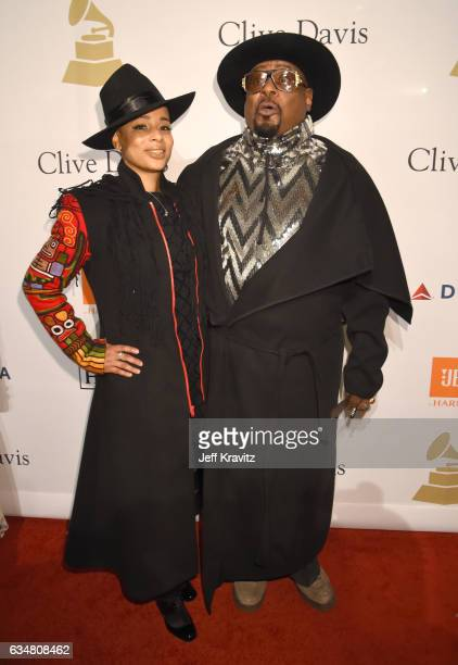 Carlon ThompsonClinton and musician George Clinton attend PreGRAMMY Gala and Salute to Industry Icons Honoring Debra Lee at The Beverly Hilton on...