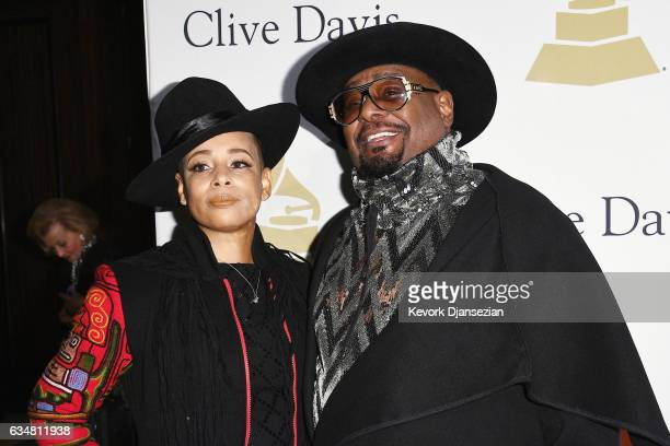 George Clinton with desirable, Wife Carlon Thompson-Clinton