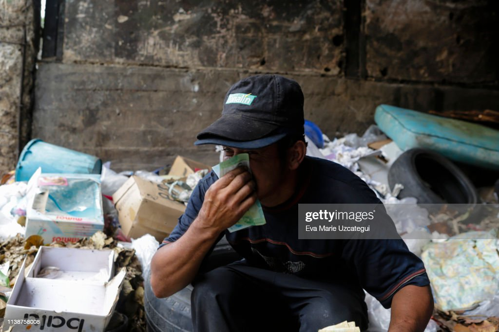 Stories of Hunger in Venezuela : News Photo