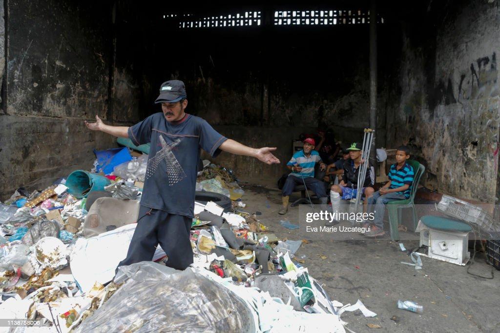 Stories of Hunger in Venezuela : News Photo