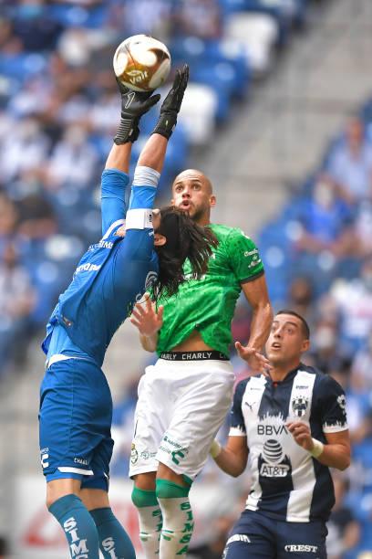MEX: Monterrey v Santos Laguna - Playoffs Torneo Guard1anes 2021 Liga MX