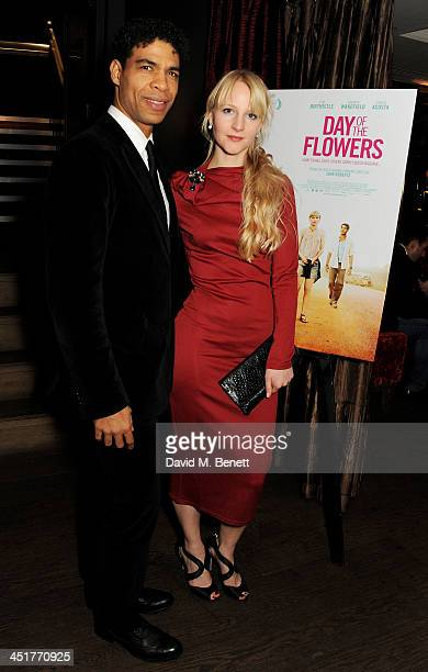Carlos Acosta and his wife Charlotte Holland attend an after party celebrating the UK Premiere of Day Of The Flowers at The Mayfair Hotel on November...