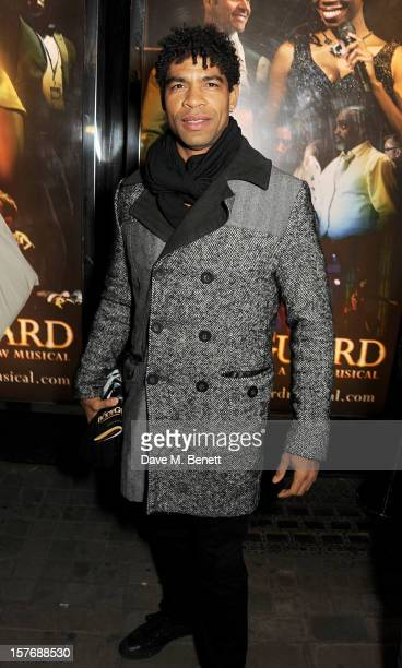 Carlos Acosta attends an after party celebrating the press night performance of 'The Bodyguard' at on December 5 2012 in London England