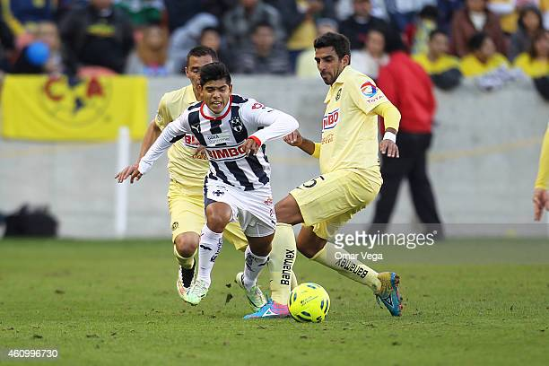 Carlos Acosta of Monterrey in action during a friendly match between America and Monterrey at BBVA Compass Stadium on January 03 2015 in Houston...