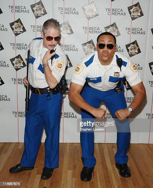 Carlos Alazraqui and Cedric Yarbrough during The Tribeca Cinema Series Hosts a Special Screening of Reno 911 Miami February 21 2007 at Tribeca...