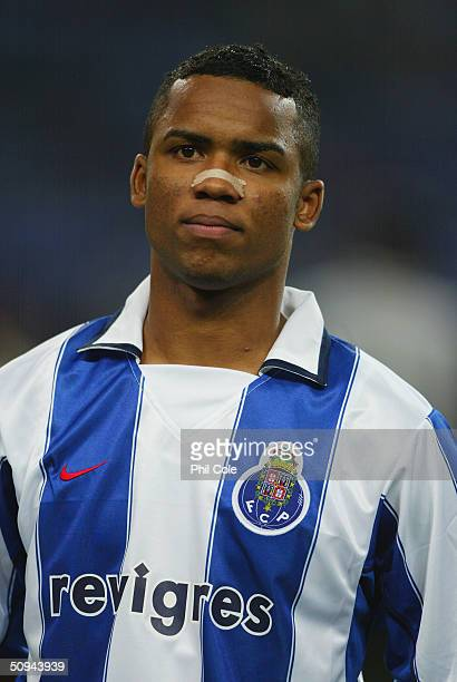 Carlos Alberto of Porto during the UEFA Champions League second round first leg match between Porto and Manchester United at the Estadio Dragao on...