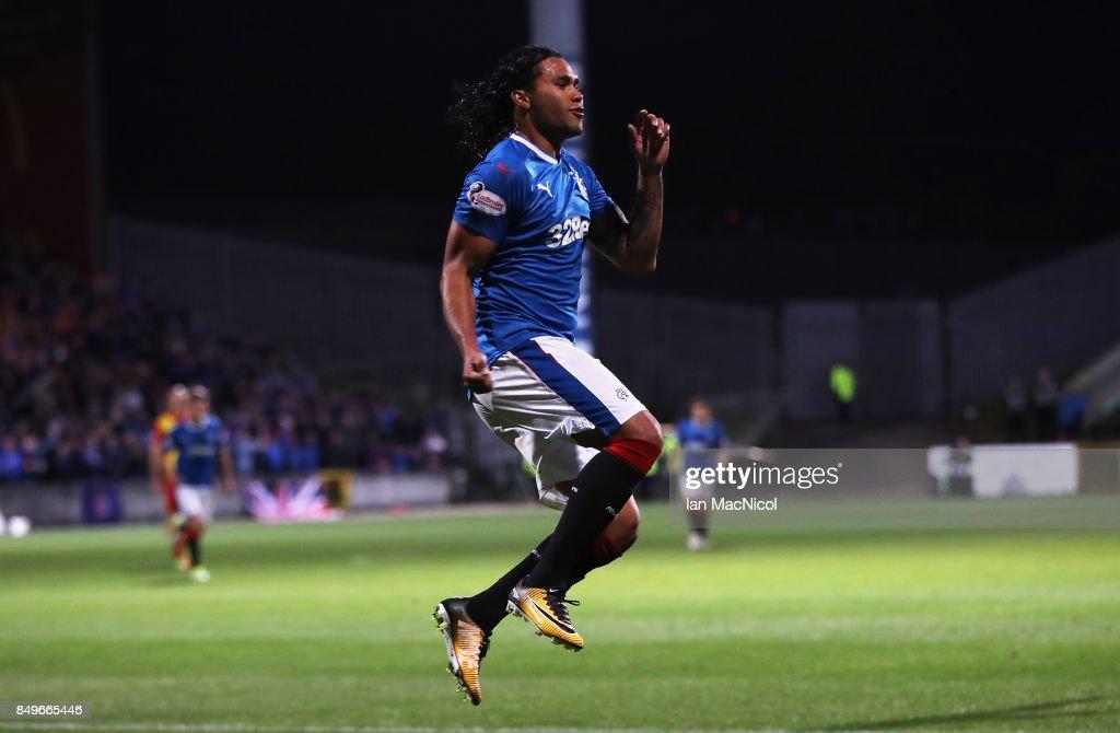 Partick Thistle v Rangers - Betfred League Cup Quarter Final : News Photo