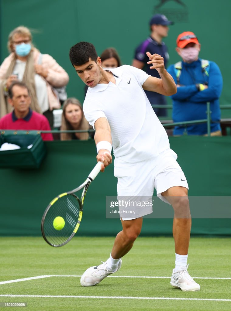 Day Three: The Championships - Wimbledon 2021 : ニュース写真