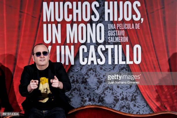 Carlos Areces attends 'Muchos Hijos Un Mono Y Un Castillo' premiere at Callao Cinema on December 13 2017 in Madrid Spain