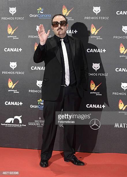 Carlos Areces attends the 2015 'Feroz' Cinema Awards at Gran Teatro Ruedo Las Ventas on January 25 2015 in Madrid Spain