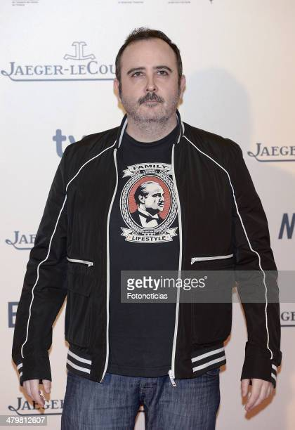 Carlos Areces attends the premiere of 'Enemy' at Palafox Cinema on March 20 2014 in Madrid Spain