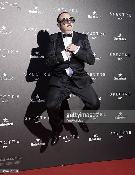 Carlos Areces attends the SPECTRE 007 Madrid Premiere at the Teatro Real on October 28 2015 in Madrid Spain