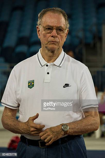 Carlos Arthur Nuzman attends the opening of the Arena Carioca 3 at the Olympic Park Rio 2016 in Rio de Janeiro Brazil 6 March 2016 The site is 100%...
