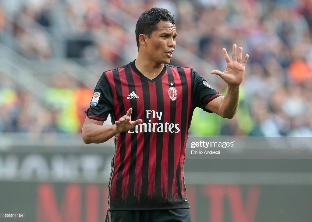 AC Milan v US Citta di Palermo - Serie A : Foto di attualità