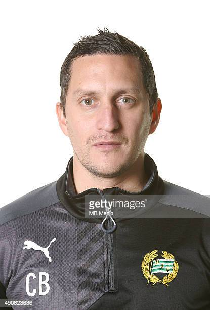 Carlos Banda Assistant Manager of Hammarby poses during a portrait session on March 5 2015 in StockholmSweden