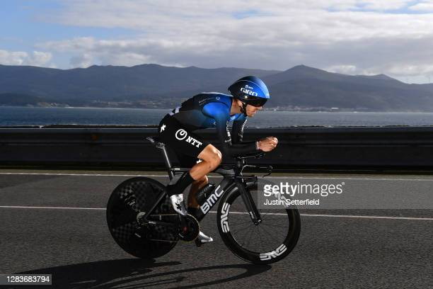 Carlos Barbero Cuesta of Spain and NTT Pro Cycling Team / during the 75th Tour of Spain 2020, Stage 13 a 33,7km Individual Time Trial stage from...