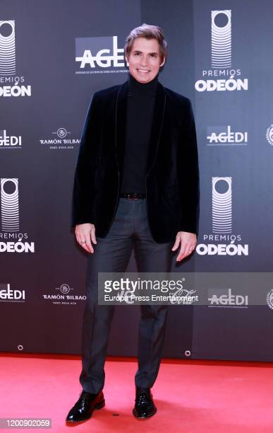 Carlos Baute attends Odeon Awards 2020 at Royal Theater on January 20 2020 in Madrid Spain