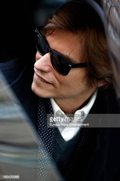 Carlos Baute is seen on January 25 2013 in Madrid Spain