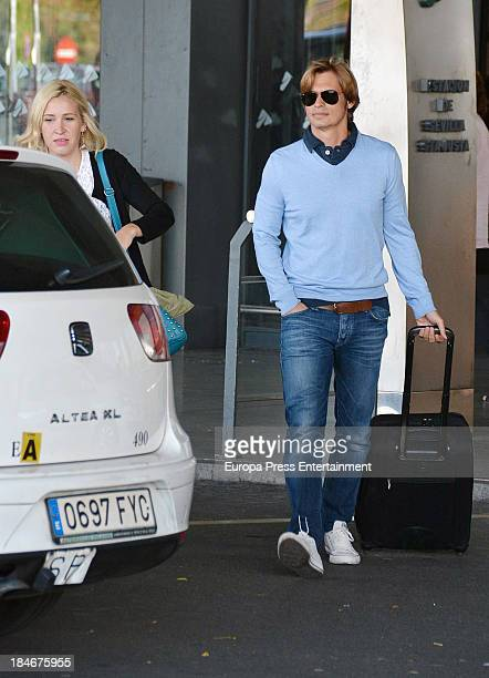 Carlos Baute is seen on October 14 2013 in Madrid Spain