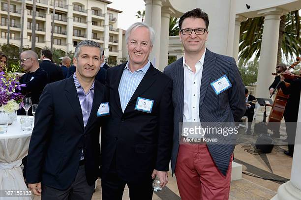 Carlos Becil Vice President of North America St Regis Luxury Collection Le Meridien American Express Publishing President CEO Ed Kelly and St Regis...