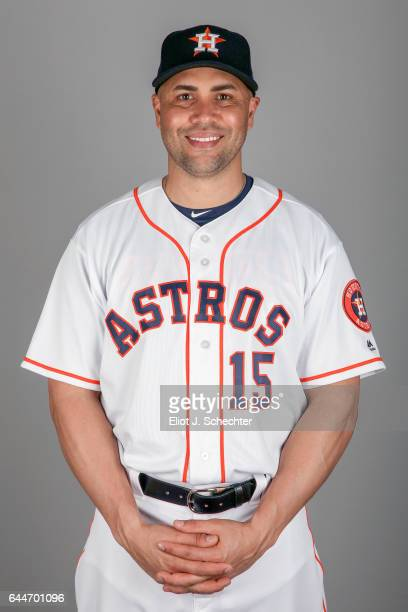 Carlos Beltran of the Houston Astros poses during Photo Day on Sunday February 19 2017 at the Ballpark of the Palm Beaches in West Palm Beach Florida