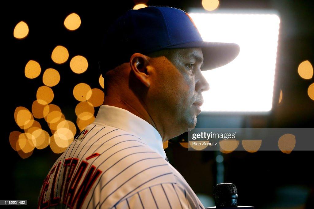 New York Mets Introduce Carlos Beltran - Press Conference : News Photo