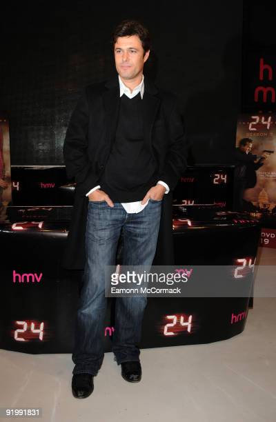 Carlos Bernard attends a DVD signing session for Series 7 of '24' on October 19 2009 in London England