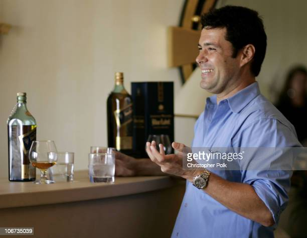 Carlos Bernard during The 2004 Johnnie Walker Blue Gentleman's Suite at The Four Season Hotel in Beverly Hills CA United States