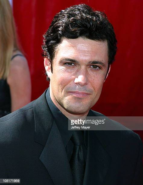 Carlos Bernard during The 55th Annual Primetime Emmy Awards Arrivals at The Shrine Theater in Los Angeles California United States
