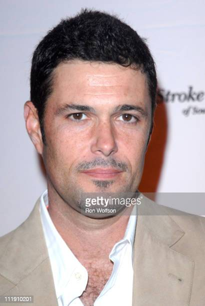 Carlos Bernard during The Stroke Recovery Center Benefit Honoring Howard Gordon With Honorary CoChair Kiefer Sutherland in Los Angeles CA United...