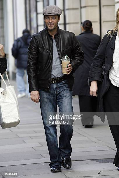 Carlos Bernard who plays Tony Almeida in US Cult television series '24' sighted arriving at Radio One on October 16 2009 in London England